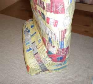 Βήμα-βήμα: μπούστο με την τεχνική paper mache (μέρος δεύτερο)