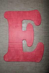 nursery letters 1