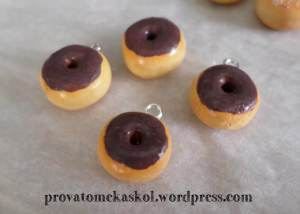 polymer choco donuts