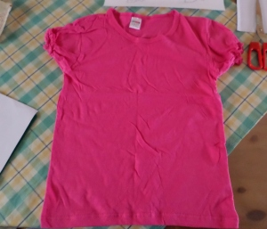 diy paint t shirt tutorial 1