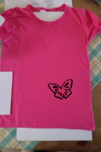 diy paint t shirt tutorial 8