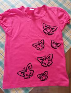 diy paint t shirt tutorial 9