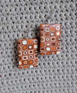 polymer cane earring 6