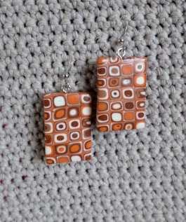 polymer cane earring 6