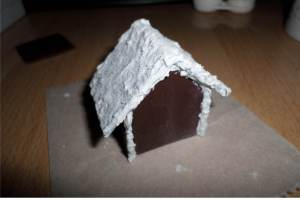 polymer gingerbread house 3