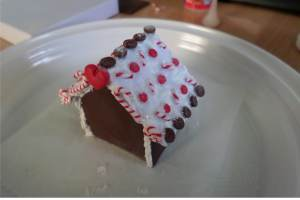 polymer gingerbread house 4