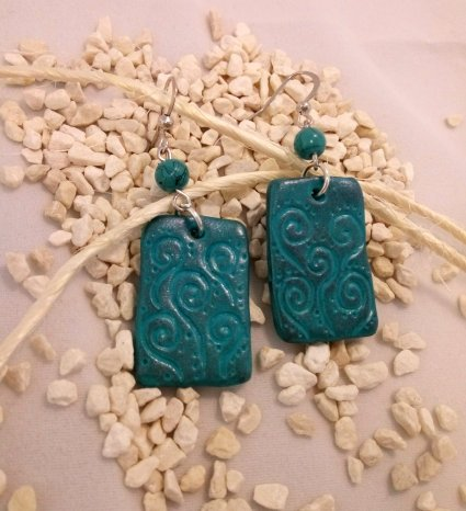 tourqoise earrings