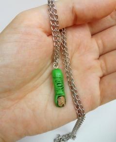 monster finger necklace