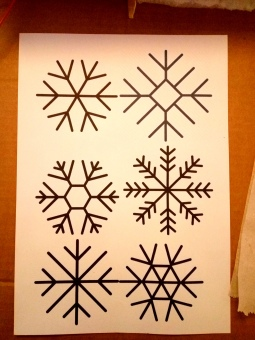 snowflake ornaments 1